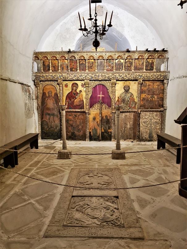 Crkva u Bazeos kuli