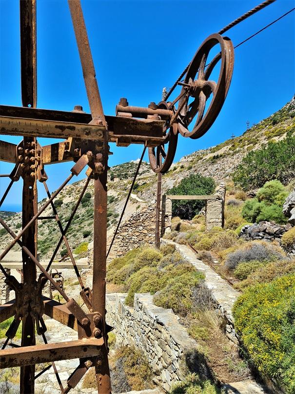 Pogon za izvlačenje rude na brdo